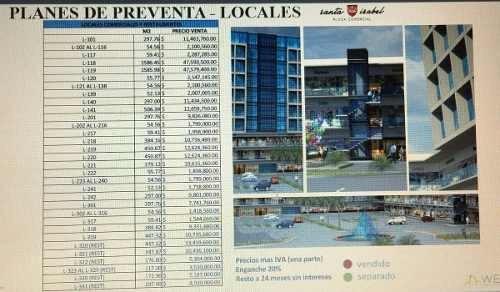 pre venta locales comerciales y oficinas plaza santa isabel