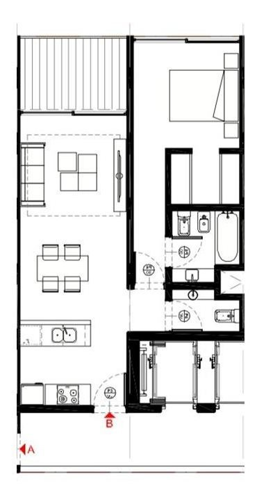 pre venta mono 35 m2 1 piso financiado caballito