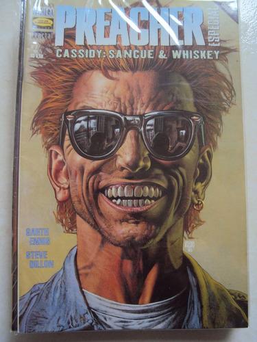 preacher # 02 - vertigo - tudo em quadrinhos
