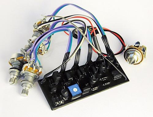 preamp original master 3eq com chave bypass ativo/passivo