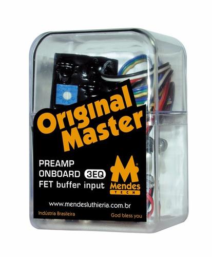 preamp original master 3eq com mid range e balanço