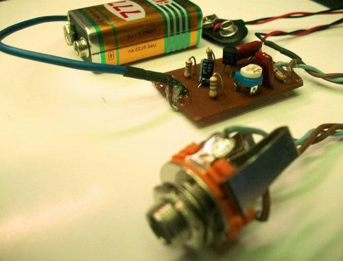 preamp para bajo,guitarra electrica,fabricacion artesanal.