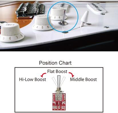 preamp tone gauge sg-3d (nitro booster) p/ guitarra e baixo