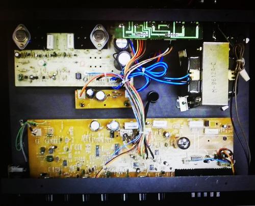 preamp valvular vintage q-tube 70 potencia mosfet/híbrido