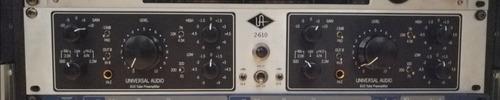 preamplificado universal audio 2-610s silverface (tubos)