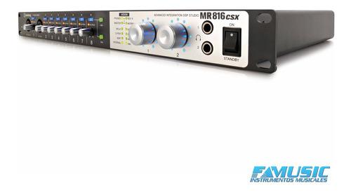 preamplificador conversor de microfono steinberg sb mr816csx