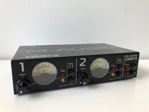 preamplificador de microfono m-audio dmp3 usado barato