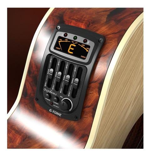 preamplificador guitarra acustica criolla clasica cherub gs3