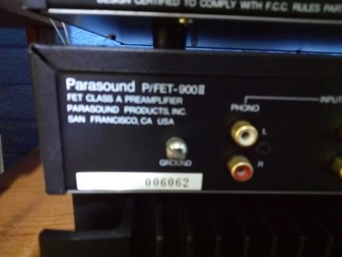 preamplificador hi end marca parasound  p/fet-900-ii