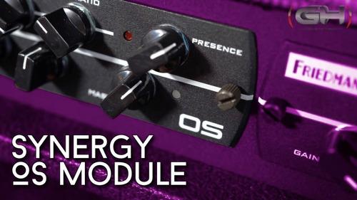preamplificador synergy amps dumble drive os en stock!!!