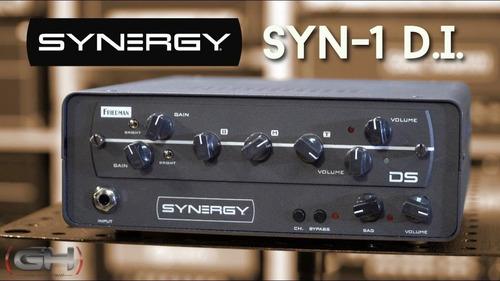 preamplificador synergy amps syn-1 en stock!!!