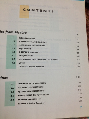 precalculus - functions and graphs - swokowski - cole - 7 ed
