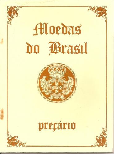 preçario de moedas do brasil (1986)