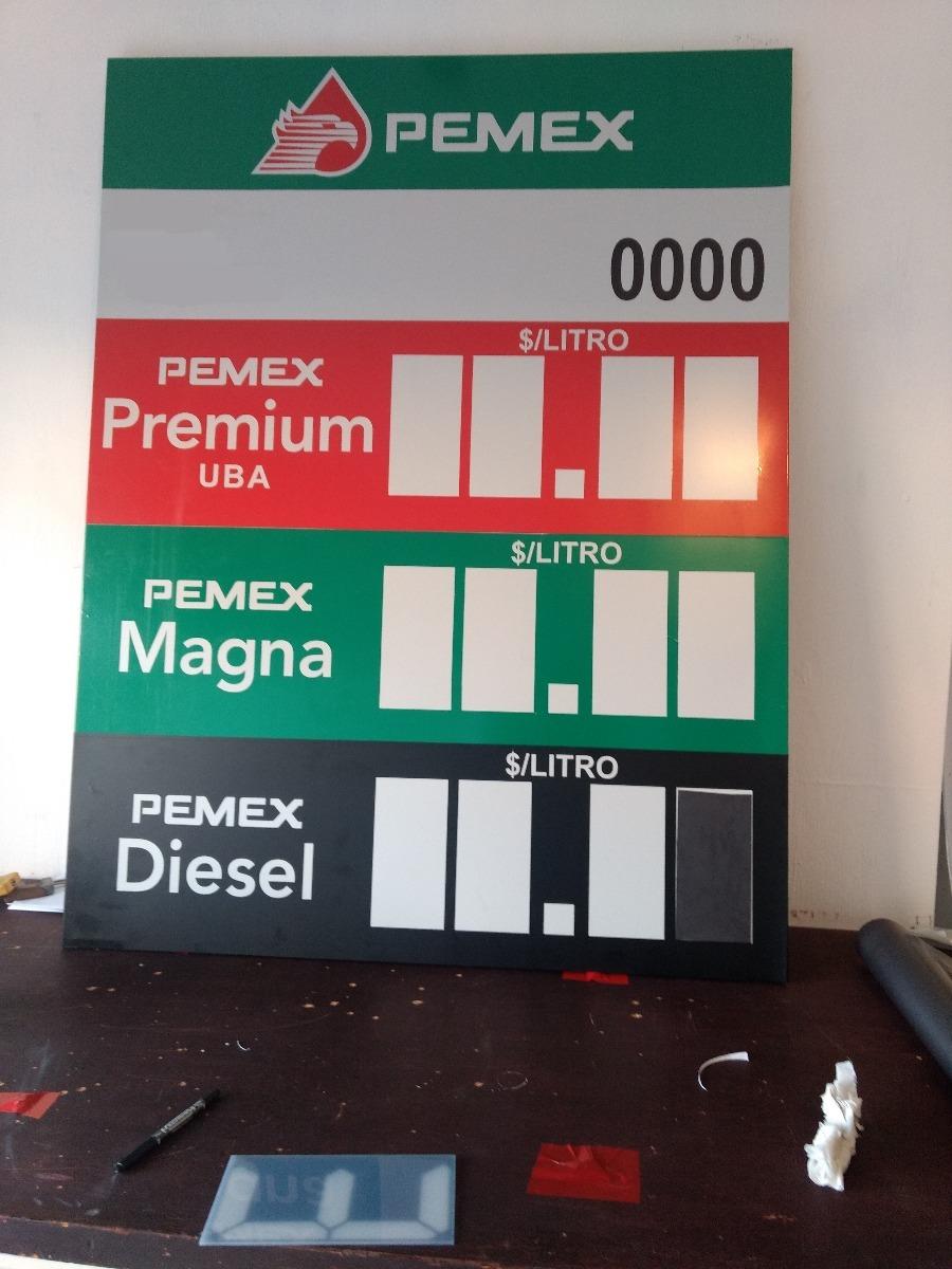 Preciador manual magnetico pemex 6 en mercado libre - Precio de tableros ...