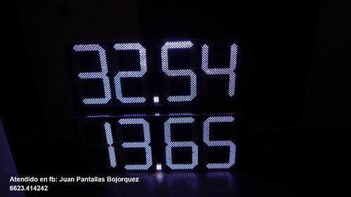 preciadores para anuncio en gasolineras pemex vía wifi ó bt