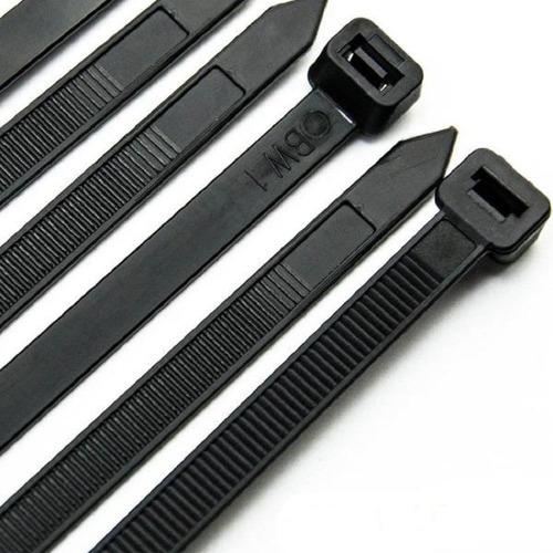 precintos plasticos 25 unidades 100mm (10cm) sueltos cinta