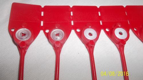 precintos plásticos 30cm numerados al mejor precio 3750 c/u
