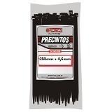 precintos plasticos tacsa 100 unidades 100mm x 2,5mm (10cm)