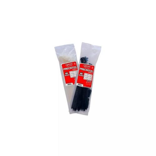 precintos plasticos tacsa 100 unidades 300mm x 7,6mm (30cm)