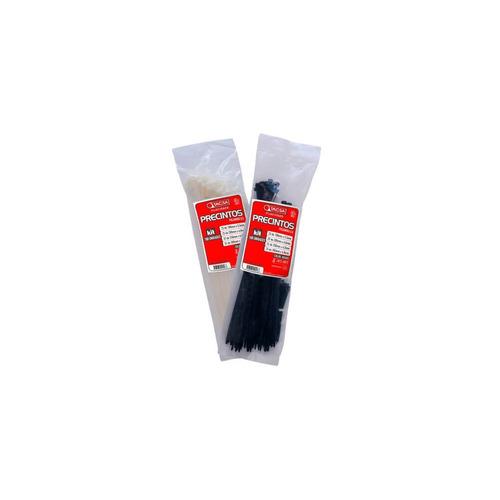 precintos plasticos tacsa 100 unidades 350mm x 7,6mm (35cm)