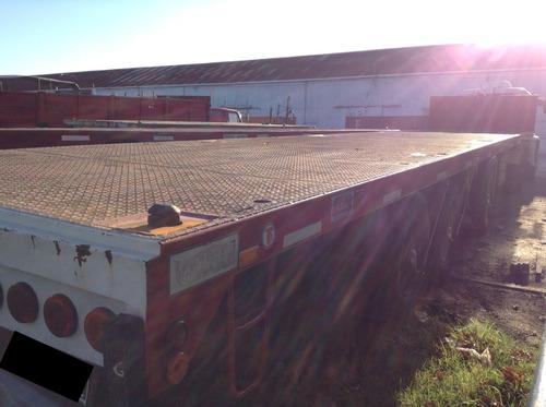 precio a consultar: vendo equipo! camión+semirremolque