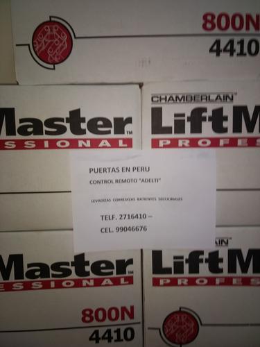 precios control remoto motor lift master seccional levadiza