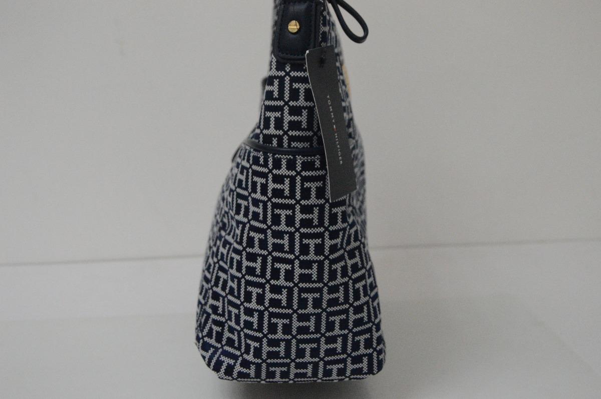 50acbbdd52f preciosa bolsa azul tommy hilfiger original para dama!! Cargando zoom.