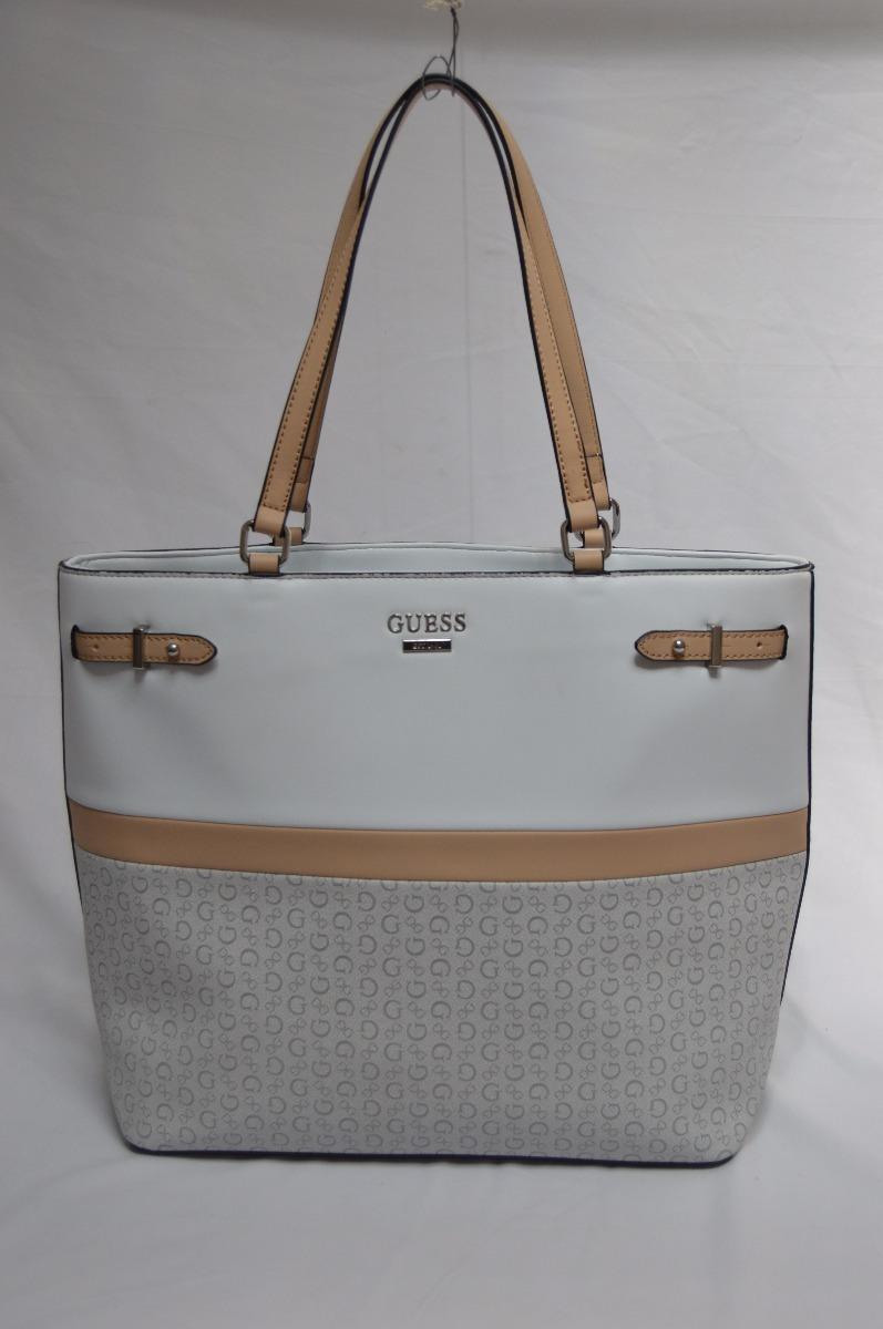 a9ee8c70755ff Preciosa Bolsa Guess Blanca Nueva Y Original Para Dama ...