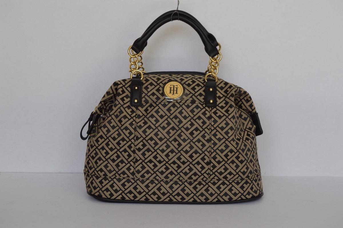 42526f4e4c0 preciosa bolsa tommy hilfiger negra original para dama!! Cargando zoom.