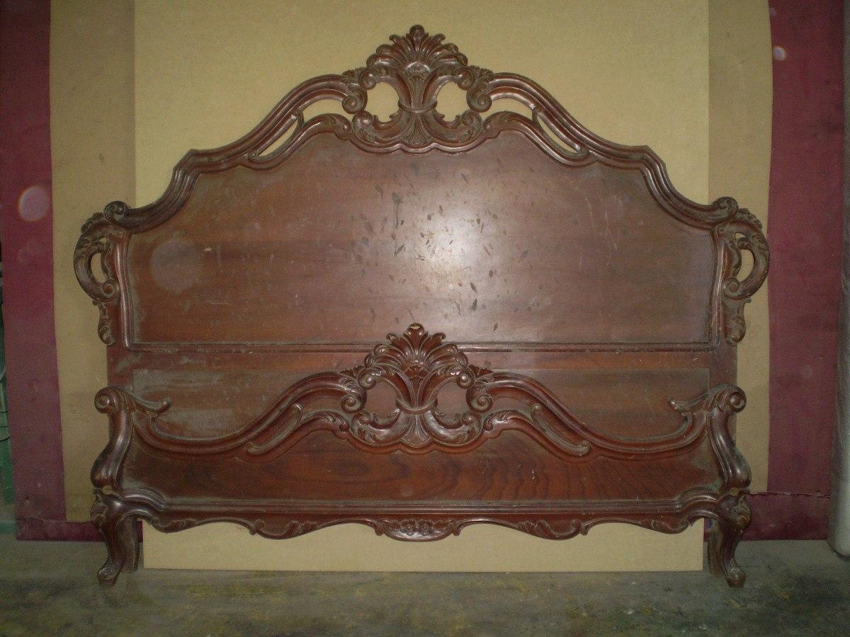 Preciosa cama matrimonial estilo luis xv elaboarada en for Cuanto sale un sofa cama