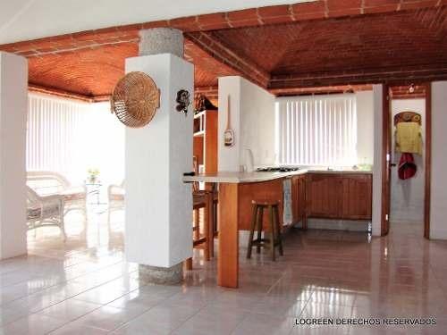 preciosa casa campestre estilo mexicano moderno