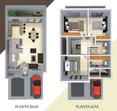 preciosa casa de 2 plantas en fracc. la arboleda iii en juriquilla querã©taro