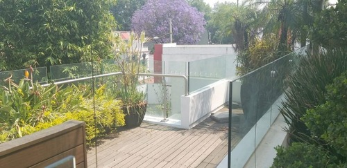 preciosa casa en calle cerrada en colonia florida, álvaro obregón.