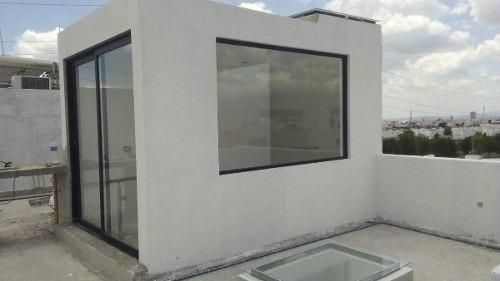 preciosa casa en el mirador, 3 recamaras, jardín, roof garden, premium y luxury