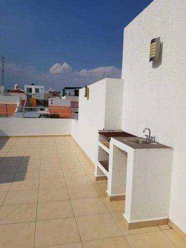 preciosa casa en el mirador, roof garden, 3 recámaras, 3 baños, estudio, 3 autos
