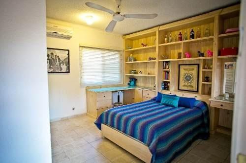 preciosa casa en la supermanzana 15, casa sola residencial con alberca. cancun