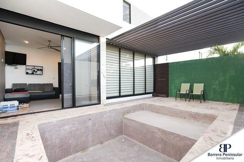 preciosa casa en privada residencial arborettos en santa gertrudis copó