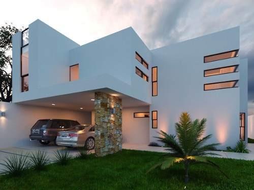 preciosa casa en venta con piscina residencial viladiu cholul mérida