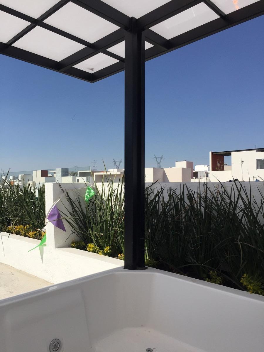 preciosa casa en zen house i - 3 recamaras, roof garden, jardin, alberca, lujo!