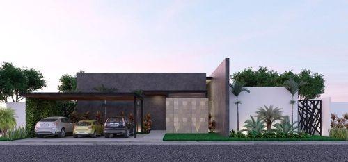 preciosa casa hacienda cholul modelo a preventa