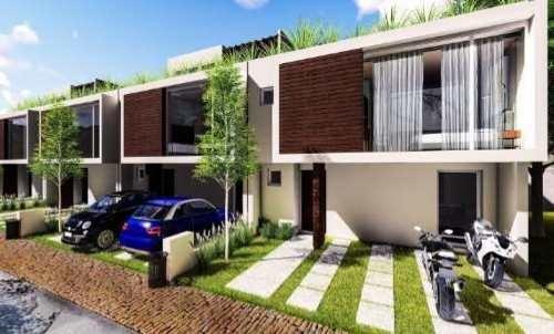 preciosa casa modelo tarragona en cañadas del arrollo, con roof garden.