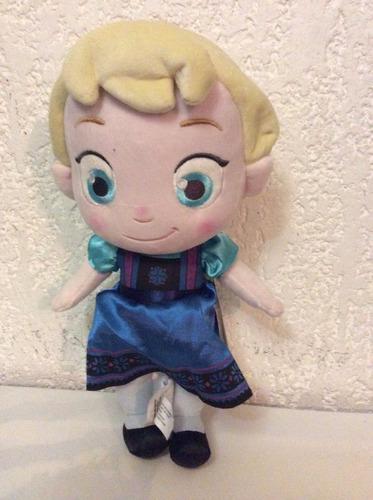 preciosa muñeca elsa 30cm de la pelicula frozen disney.