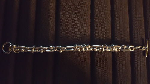 preciosa pulsera de acero importada 100% garantizada