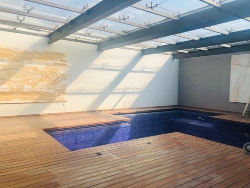 preciosa residencia con alberca en jardines del pedregal, alvaro obregón.