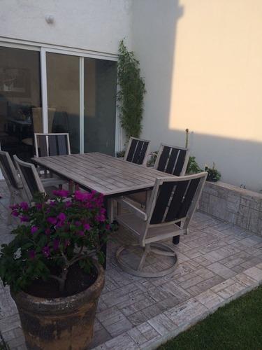preciosa residencia en cumbres del lago, los olivos, roof garden, gran jardín
