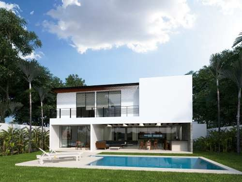 preciosa residencia equipada con amplio terreno en privada con amenidades.