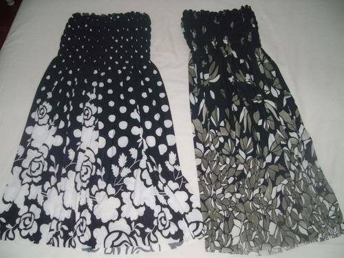 preciosas blusas nuevas s/mangas c/elastico $ 150 c/u