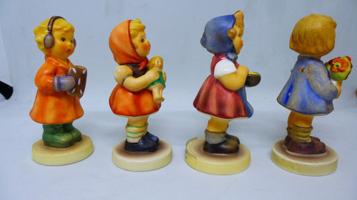 preciosas figuras marca hummel, alemanas de colección