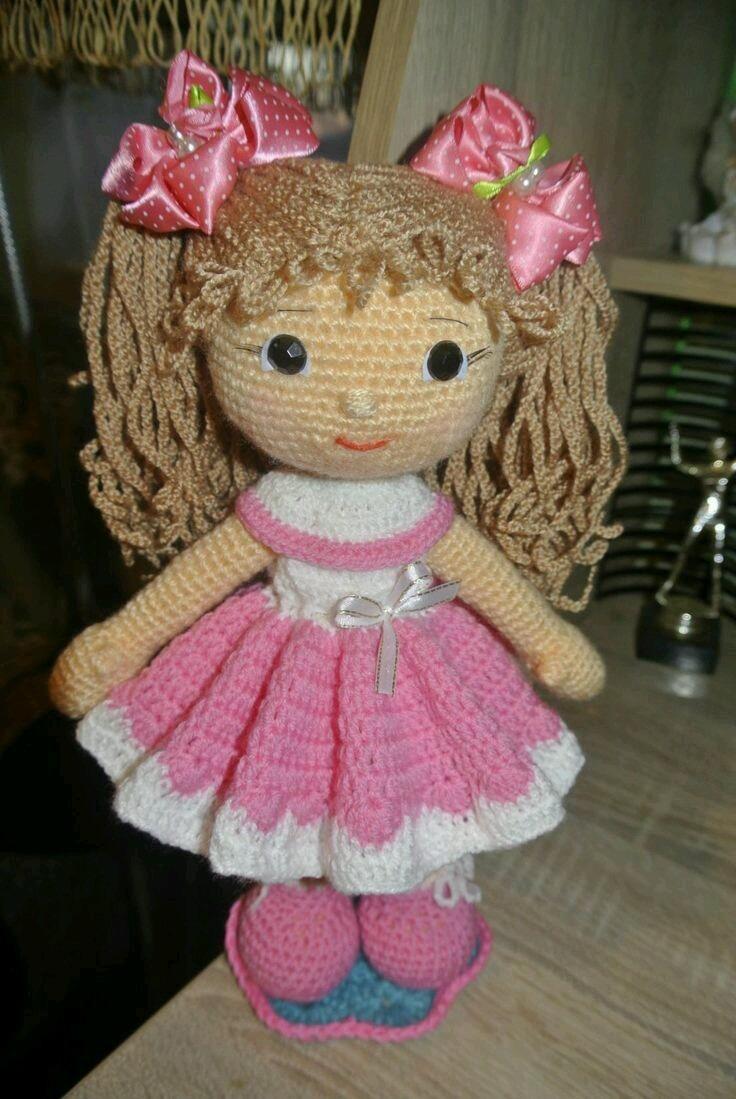 Preciosas Muñecas Tejidas A Mano