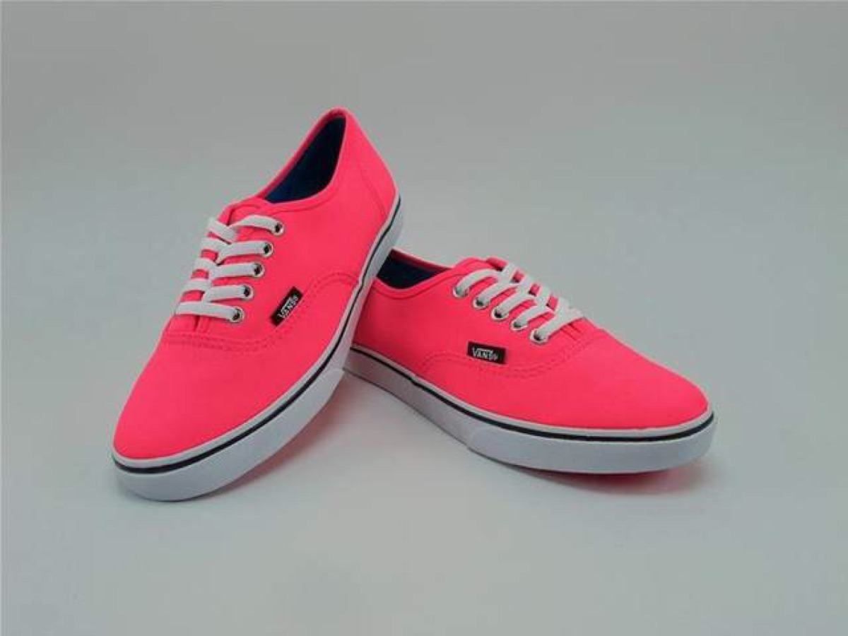 vans mujer colores